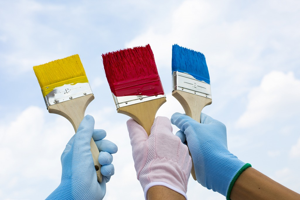 外壁塗装でよく使われる塗料の種類とは
